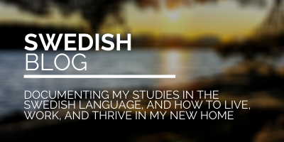 Link Image for my Swedish blog - Documenting my studies in the Swedish language, and how to live, work, and thrive in my new home